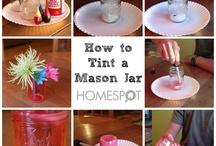 Mason Jar crafts / by Lisa Brown