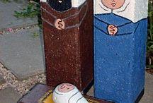 nativity set / by bernice anderson