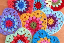 crochet: motifs, not squares/ free / by Amy Woods