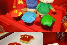 Alvin and the Chipmunks party