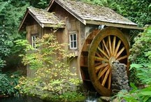 Water Wheels / Water Mills / Grist Mills / by Gustavo Dalmasso