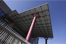 Pensiline / Pensiline in acciaio e pensiline fotovoltaiche