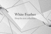 Shaun Leane White Feather Collection / We've created a board that's entirely inspired by jewellery designer Shaun Leane's striking new White Feather collection