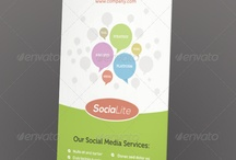 Design | Prints and web banners / Design inspiration for banner, ad and rollup design.