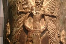Sumerian artifact (Found in Iran) Neo-Assyrian, ca. 8th century B.C. Mesopotamia, Nimrud (ancient Kalhu)