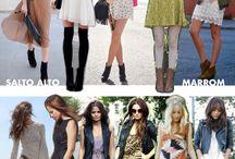 vestido / bota