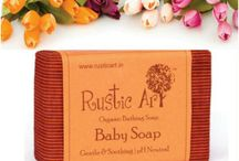 #BabyCare by #RusticArt / Rustic Art, a premium Indian brand of certified organic, natural, biodegradable baby care products.