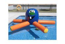 Hinchables acuáticos animapiscinas / Anima jornadas en las piscinas gracias a estos hinchables acuáticos