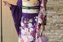 Japon: tissu et kimono