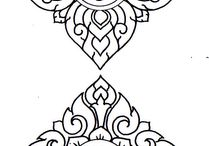 Coloring Pages & Stencils