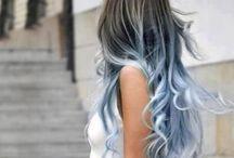 Denim Hair / Denim hair, czyli... niebieskie włosy!