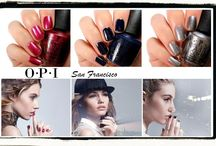 OPI San Francisco collection Fall 2013