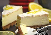 Douceurs sucrées à tester / Cheese Cake Citron