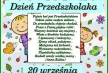 wierszyki przedszkole