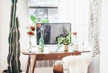 HOME | OFFICE / Office ideas, bureau, décoration bureau
