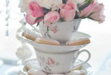 Vintage/Pink Bridal shower / Ideas for Erika's Bridal Shower / by greenleaf gallery