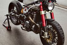 Custom Motorcycles / Here you can find photos of best Cafe Racer, Scrambler, Tracker, Bobber, Brat Style