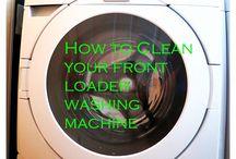 Rengjøring av vaskemaskin
