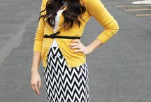 Patterns, color, and cute / Styling bold patterns, mixing patterns, and diving into vivid colors for cute looks