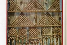 curtain idea - macrame