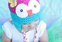 Kids owl hats