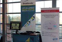 Salons & events / Retrouvez Bitdefender sur différents salons & events toute l'année ! Plus d'infos sur http://enterprise.bitdefender.com/fr/