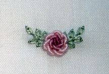 Buillon Embroidery