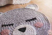 patrón osa crochet