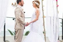 Wedding arbours and styling