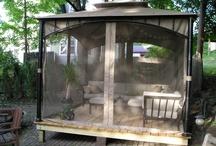 Yard portable living room