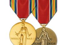 Dad's Medals and Ribbons
