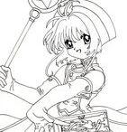 Crafty (Card Captor Sakura) Coloring