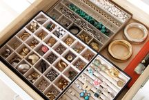 How to organize your jewels / Jewelry organizers, hangers, stands and other jewelry storage solutions