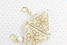 biżuteria z koralików/beading_AM / Biżuteria z koralików : haft koralikowy,plecionki,sznury szydełkowe. ________________________________________________ Jewelry with beads. Bead emrroidery, beading/beadwork,bead crochet rope.