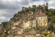 Rocamadour - France / Rocamadour village in France