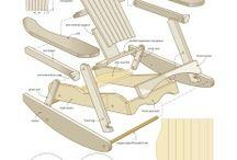 Καρέκλες / Country arm chair in detail
