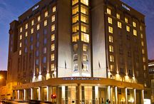 The Hilton City Centre - Cape Town, South Africa / Set between Table Mountain and the V&A Waterfront, the Hilton Cape Town City Centre hotel mixes business and beach in South Africa's coastal capital.
