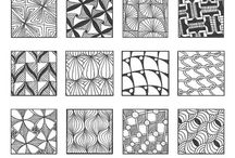 zentangle / drawing ideas / by Anke Metzger