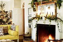 Christmas Living Rooms / It's where you open presents in the morning, fall asleep after Christmas dinner and have that last festive drink before bed - the living room is at the heart of your Christmas celebrations.