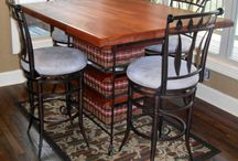 Custom Tables / Custom made tables made by our family for your family. You dream it and we will make it!