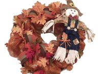 Fall / Fall wreaths, fall door hangers, fall decoration