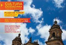 ¡Feliz Cumpleaños Bogotá! / Hoy nuestra querida Bogotá cumple 475 años y por esta razón la Fundación Bogotá Mía hace el lanzamiento de la Primera Edición de la Revista Bogotá Mía. / by Fundación Bogotá Mía