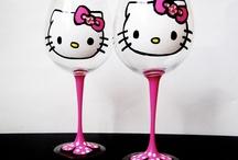 Hello kitty cups