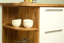 Solid Wood Specialist Cabinets / Learn more about our versatile collection of specialist cabinetry.