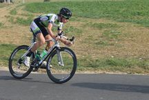 Challenge des Mauges à Beaupréau (49) / Avenir Cycliste Touraine à la course cycliste des Mauges à Beaupréau (49) avec Thomas Montois et Valentin TOUZARD