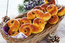 Glutenfri baking / Glutenfrie brød, boller, kjeks, o.l.
