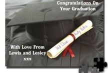 Graduation Gift Inspiration / A graduation is not only a joyous and momentous moment for the graduate but it's also a very proud moment for their family and friends too, so what better way to celebrate this memorable event than with personalised graduation gifts for him and for her.