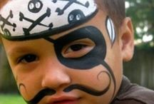 Boys Facepainting