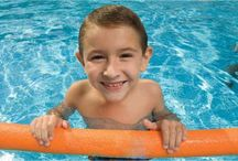 Special Needs Swimming and Aquatic Therapy / Aquatic therapy or just plain fun in the pool can be a great way to relax, develop balance and muscle tone, and so much more. We've put together this board of our customers' favorite items for splashing safely and securely while enjoying the water. / by eSpecial Needs