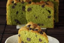 Green tea sensation / My green tea obsession. Just love everything about it. Baking with green tea just take you to another level!